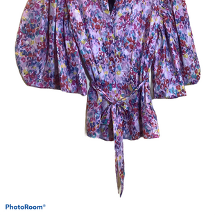 Primary Photo - BRAND: ATTENTION STYLE: TOP LONG SLEEVE COLOR: PURPLE SIZE: L OTHER INFO: NEW! SKU: 256-25661-17452