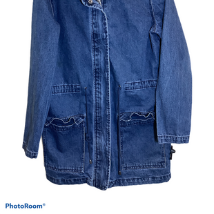 Primary Photo - BRAND: FOREVER 21 STYLE: JACKET OUTDOOR COLOR: DENIM SIZE: S SKU: 256-25673-9780