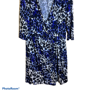 Primary Photo - BRAND: JACLYN SMITH STYLE: DRESS SHORT LONG SLEEVE COLOR: BLUE SIZE: 2X SKU: 256-25682-103