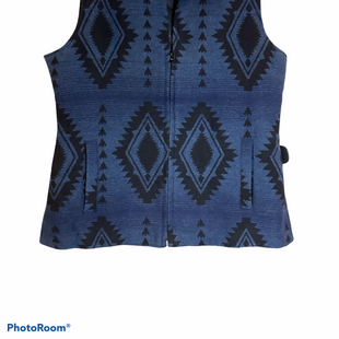 Primary Photo - BRAND:    CLOTHES MENTOR STYLE: VEST COLOR: BLUE SIZE: M OTHER INFO: BACK IN THE SADDLE - SKU: 256-25673-9284