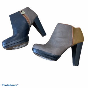 Primary Photo - BRAND:    CLOTHES MENTOR STYLE: BOOTS ANKLE COLOR: BROWN SIZE: 7.5 OTHER INFO: LELA ROSE - SKU: 256-25678-3398