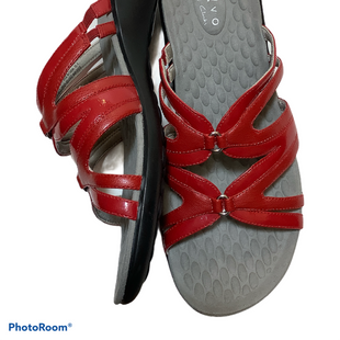 Primary Photo - BRAND: PRIVO STYLE: SANDALS LOW COLOR: RED SIZE: 9.5 SKU: 256-25647-11021