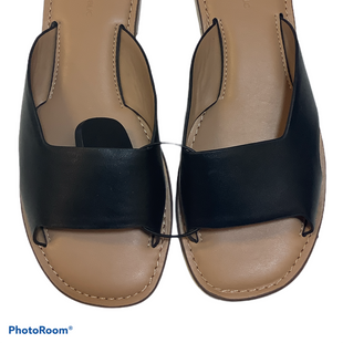 Primary Photo - BRAND: BANANA REPUBLIC STYLE: SANDALS FLAT COLOR: BLACK SIZE: 7.5 SKU: 256-25612-64864