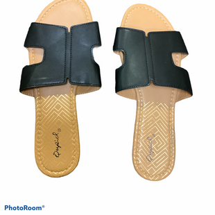 Primary Photo - BRAND: QUPID STYLE: SANDALS FLAT COLOR: BLACK SIZE: 8.5 SKU: 256-25611-32983