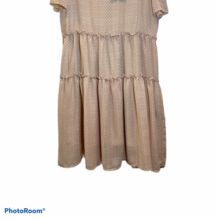 Primary Photo - BRAND: DOWNEAST STYLE: DRESS SHORT SHORT SLEEVE COLOR: POLKADOT SIZE: XL SKU: 256-25611-34636