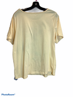 Photo #1 - BRAND: BRECKENRIDGE <BR>STYLE: TOP SHORT SLEEVE <BR>COLOR: YELLOW <BR>SIZE: 1X <BR>OTHER INFO: NEW! <BR>SKU: 256-25681-1217
