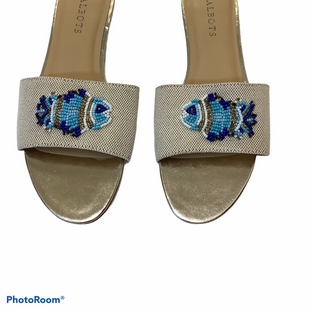 Primary Photo - BRAND: TALBOTS STYLE: SANDALS FLAT COLOR: BLUE SIZE: 9.5 SKU: 256-25678-4617