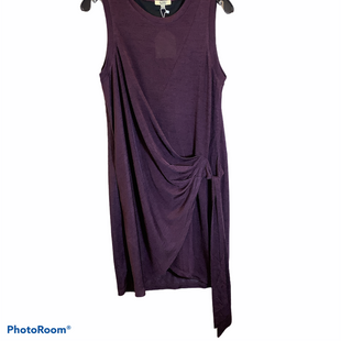 Primary Photo - BRAND: KORI AMERICA STYLE: DRESS SHORT SLEEVELESS COLOR: BURGUNDY SIZE: S OTHER INFO: NEW! SKU: 256-25673-7455