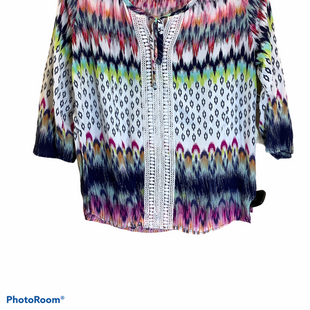 Primary Photo - BRAND: COMO VINTAGE STYLE: TOP LONG SLEEVE COLOR: MULTI SIZE: L SKU: 256-25661-17879