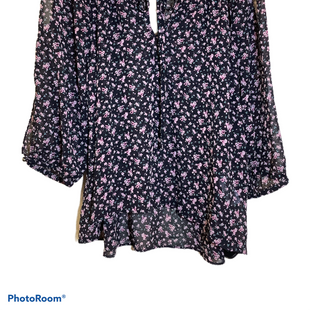 Primary Photo - BRAND: FOREVER 21 STYLE: TOP LONG SLEEVE COLOR: FLORAL SIZE: M SKU: 256-25678-4629