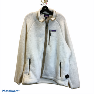 Primary Photo - BRAND: PATAGONIA STYLE: JACKET OUTDOOR COLOR: WHITE SIZE: 1X SKU: 256-25611-40089