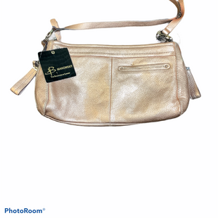 Primary Photo - BRAND: B MAKOWSKY STYLE: HANDBAG DESIGNER COLOR: GOLD SIZE: SMALL SKU: 256-25673-6124