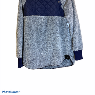 Primary Photo - BRAND:    CLOTHES MENTOR STYLE: FLEECE COLOR: BLUE SIZE: L SKU: 256-25611-40566