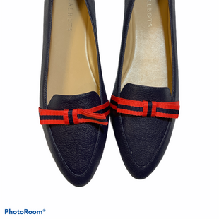 Primary Photo - BRAND: TALBOTS STYLE: SHOES LOW HEEL COLOR: NAVY SIZE: 8 SKU: 256-25673-10489