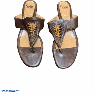 Primary Photo - BRAND: SOFFT STYLE: SANDALS LOW COLOR: BROWN SIZE: 10 SKU: 256-25673-4512