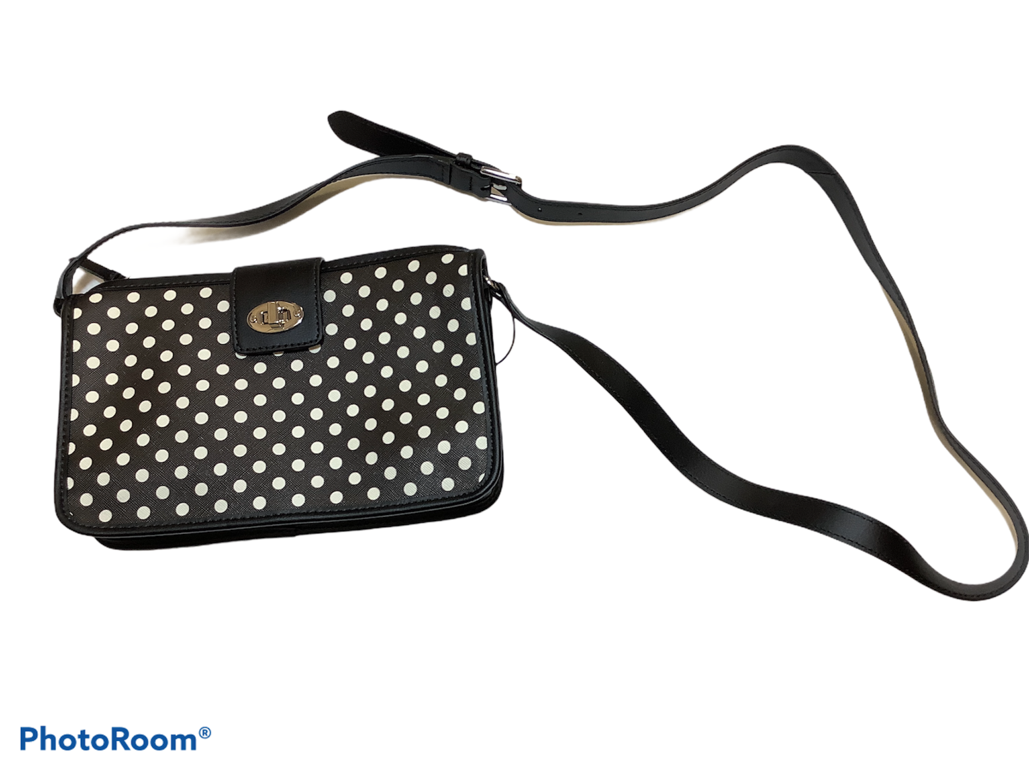 Primary Photo - BRAND: TALBOTS <BR>STYLE: HANDBAG <BR>COLOR: POLKADOT <BR>SIZE: SMALL <BR>SKU: 256-25612-64775