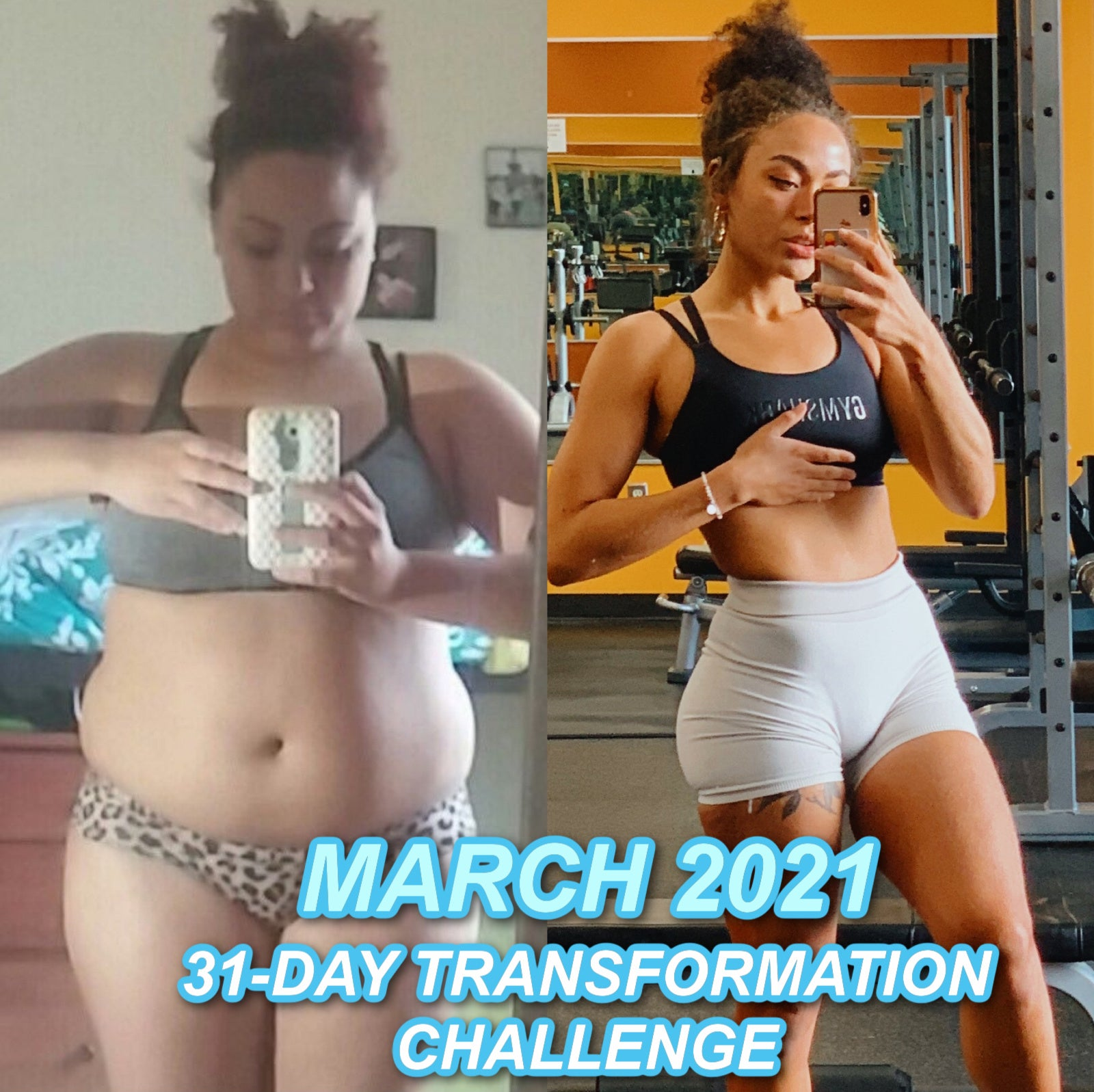 MAKE IT HAPPEN: 31 Day Transformation Challenge (March 2021)