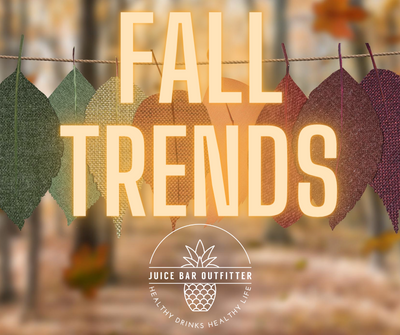 Fall Trends -  Juice & Smoothie Bar Autumn Flavor Ideas