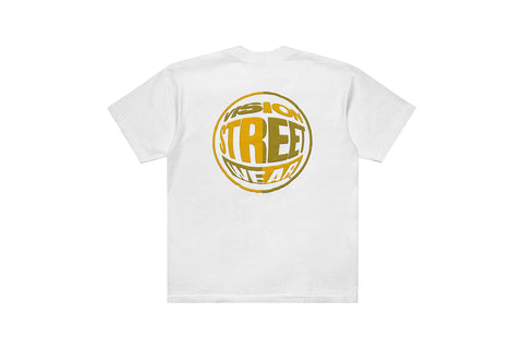 The Return Tee - White Gold