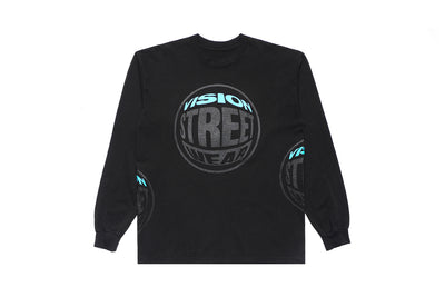 The Flared L/S Tee - Black