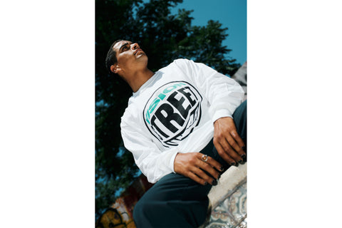 The Flared L/S Tee - White