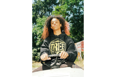 The Checkmate Hoodie - Black Gold