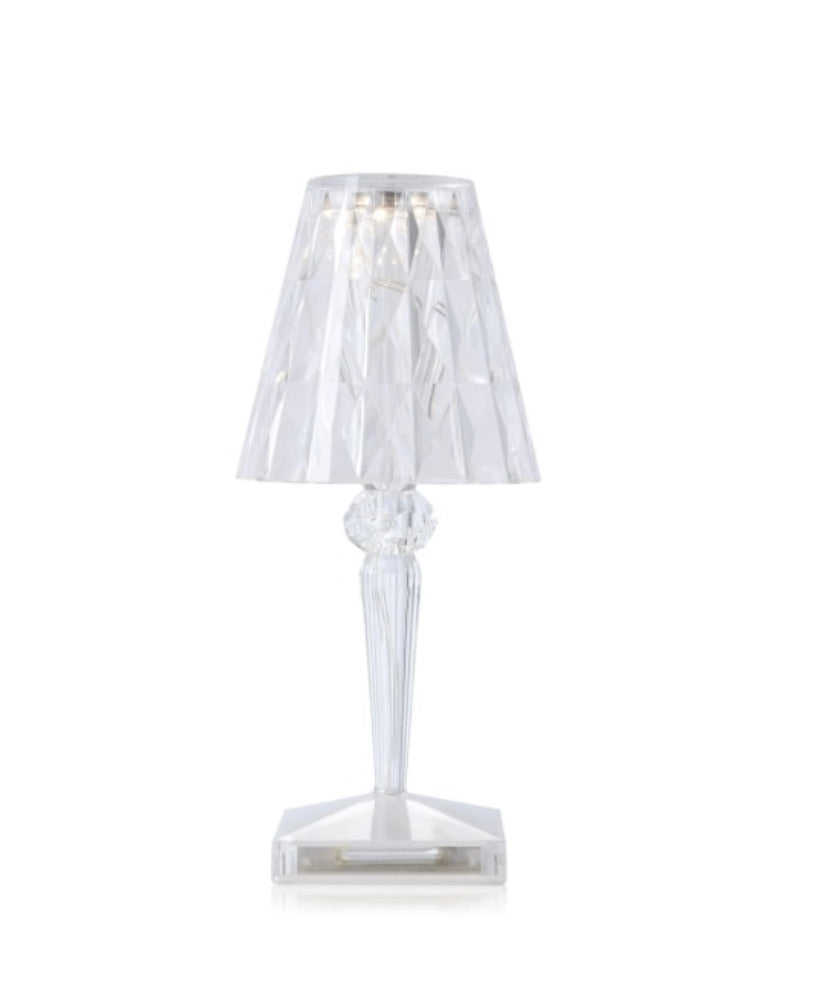 BATTERY CRYSTAL TABLE LAMP