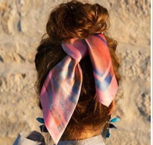CORAL DREAM KAYKERCHIEF SCARF