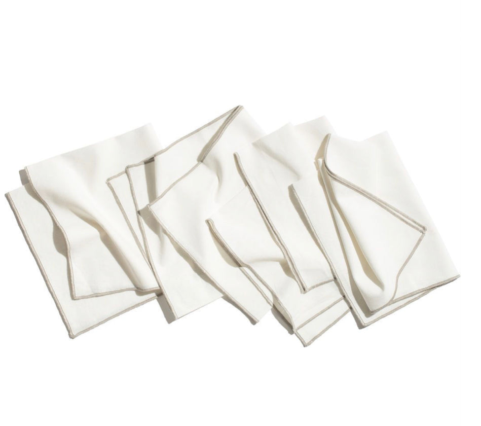 ORGANIC COTTON DINNER NAPKINS