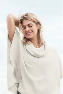 COZYCHIC ULTRA LIGHT COWL NECK PONCHO