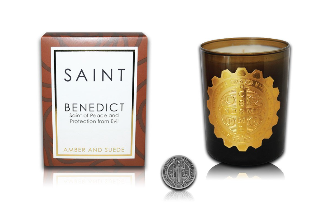 SAINT BENEDICT SPECIAL EDITION CANDLE