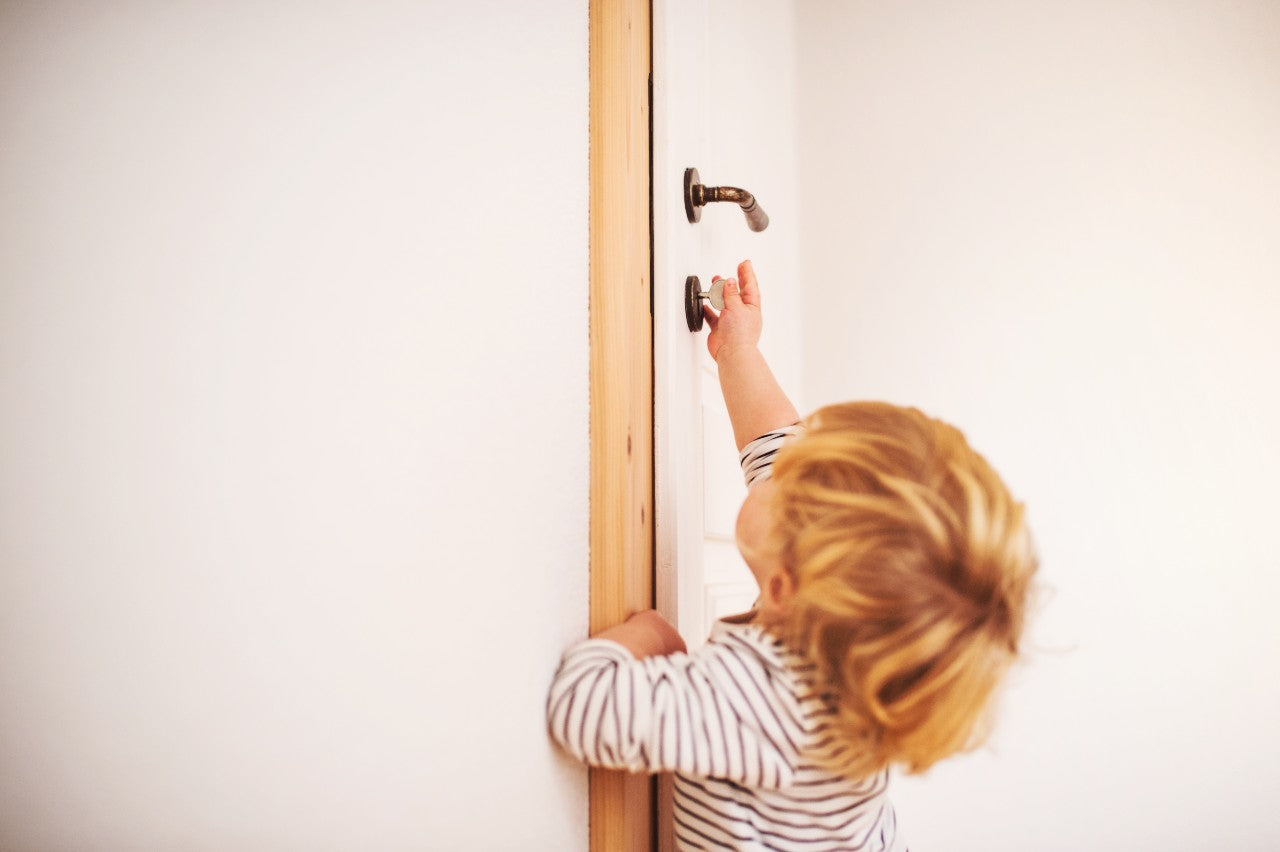 The Best Child Proof Deluxe Top Door Lock To Prevent Toilet or Bucket Drownings