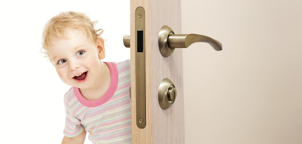 The #1 Childproof Door Lock To Help Prevent Choking Accidents