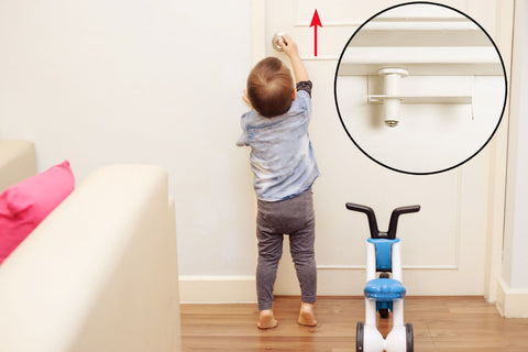 child safety lock for doors