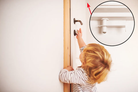 child proof door handle