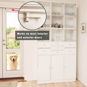 TEST GlideLok Child Safety Door Top Lock