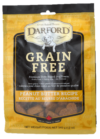 DARFORD GRAIN FREE PEANUT BUTTER 12OZ