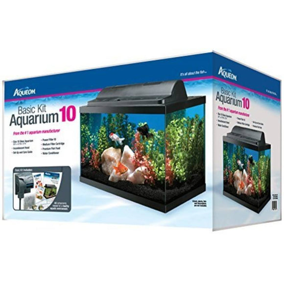 Aqueon Basic 10 Aquarium Kit