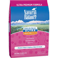 Natural Balance Original Ultra Chkn&slmn 15lb