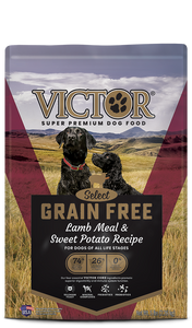 VICTOR DRY DOG FOOD Grain Free Lamb Meal & Sweet Potato