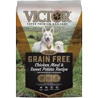 VICTOR DRY DOG FOOD G/F CHICKEN/BROWN RICE