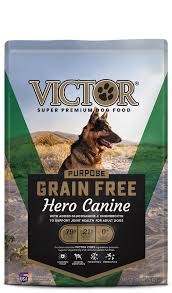 VICTOR DRY DOG FOOD GRAIN FREE HERO
