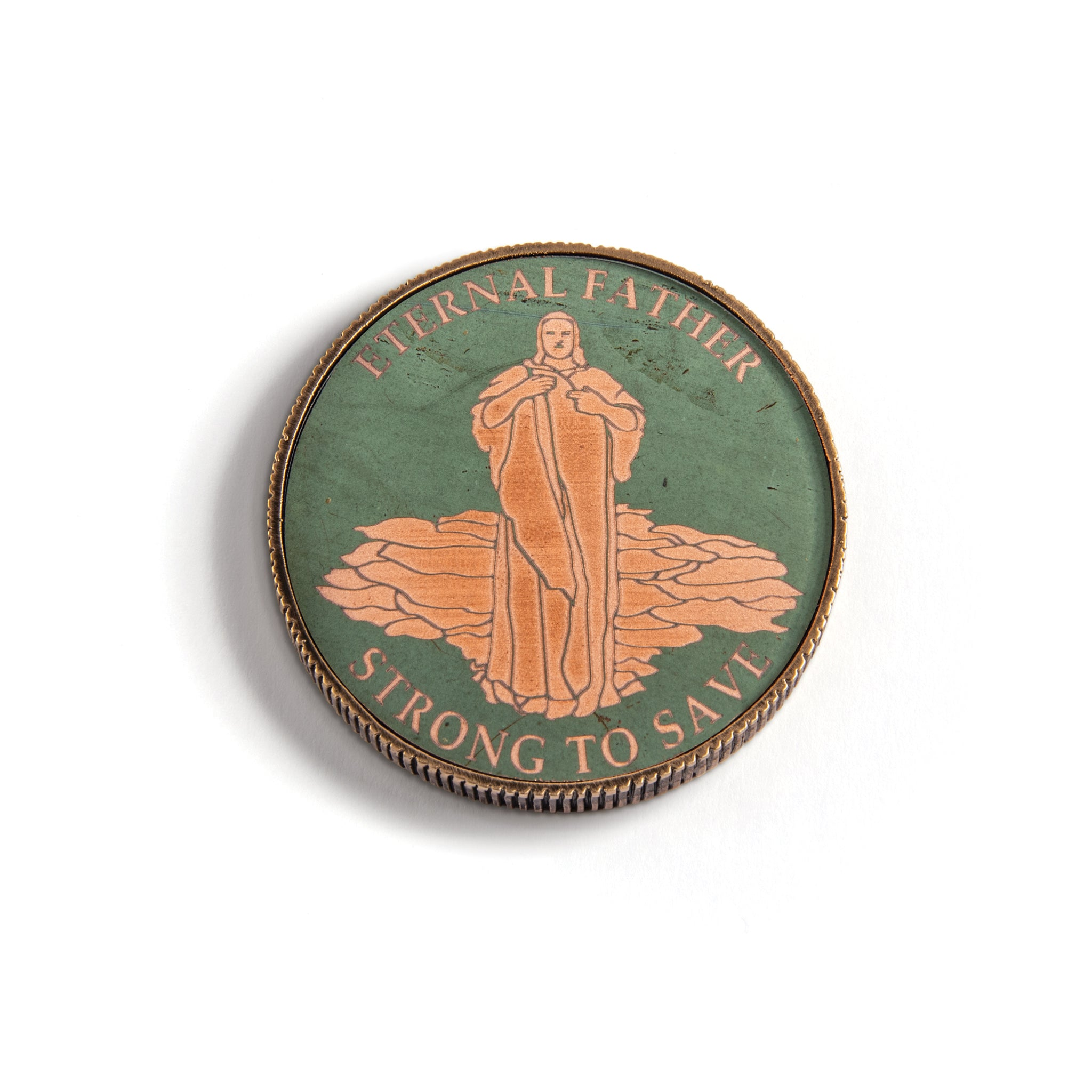 Class of '79 Challenge Coin, Christ the Consoler