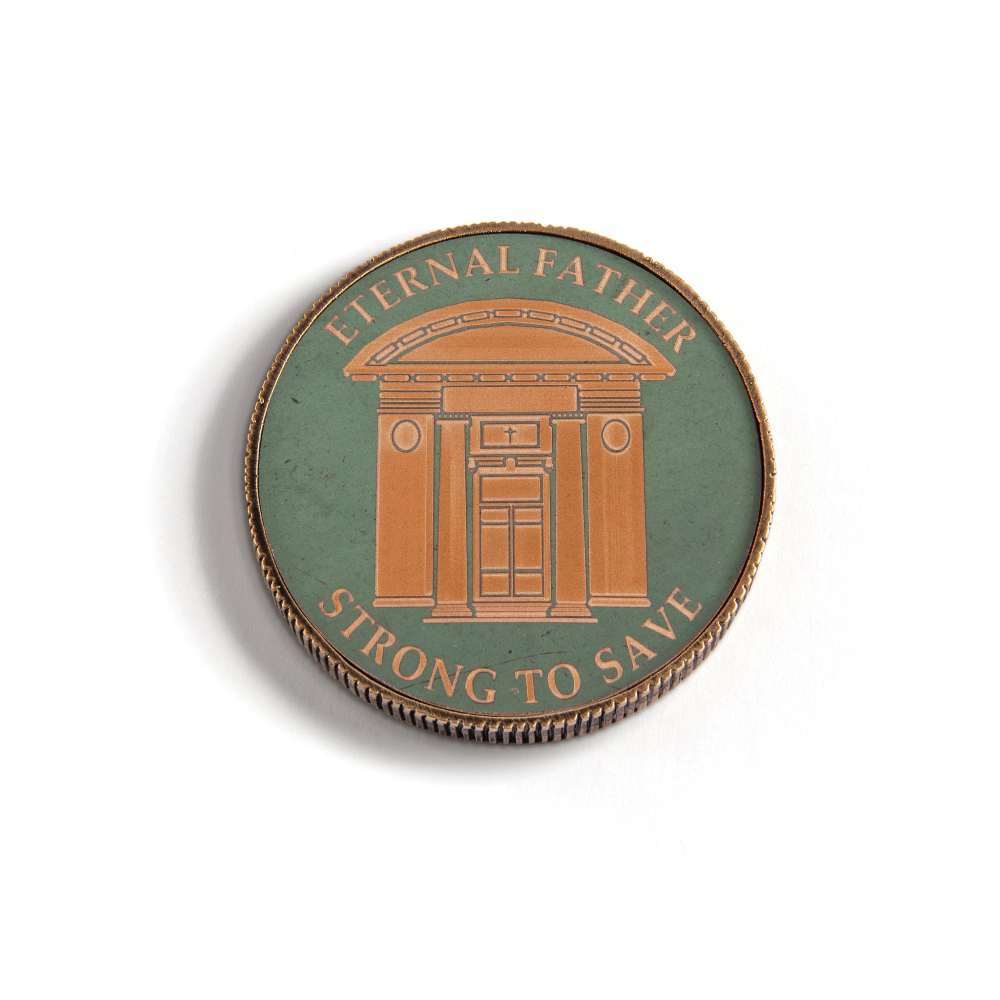 Class of '79 Challenge Coin, Chapel Doors