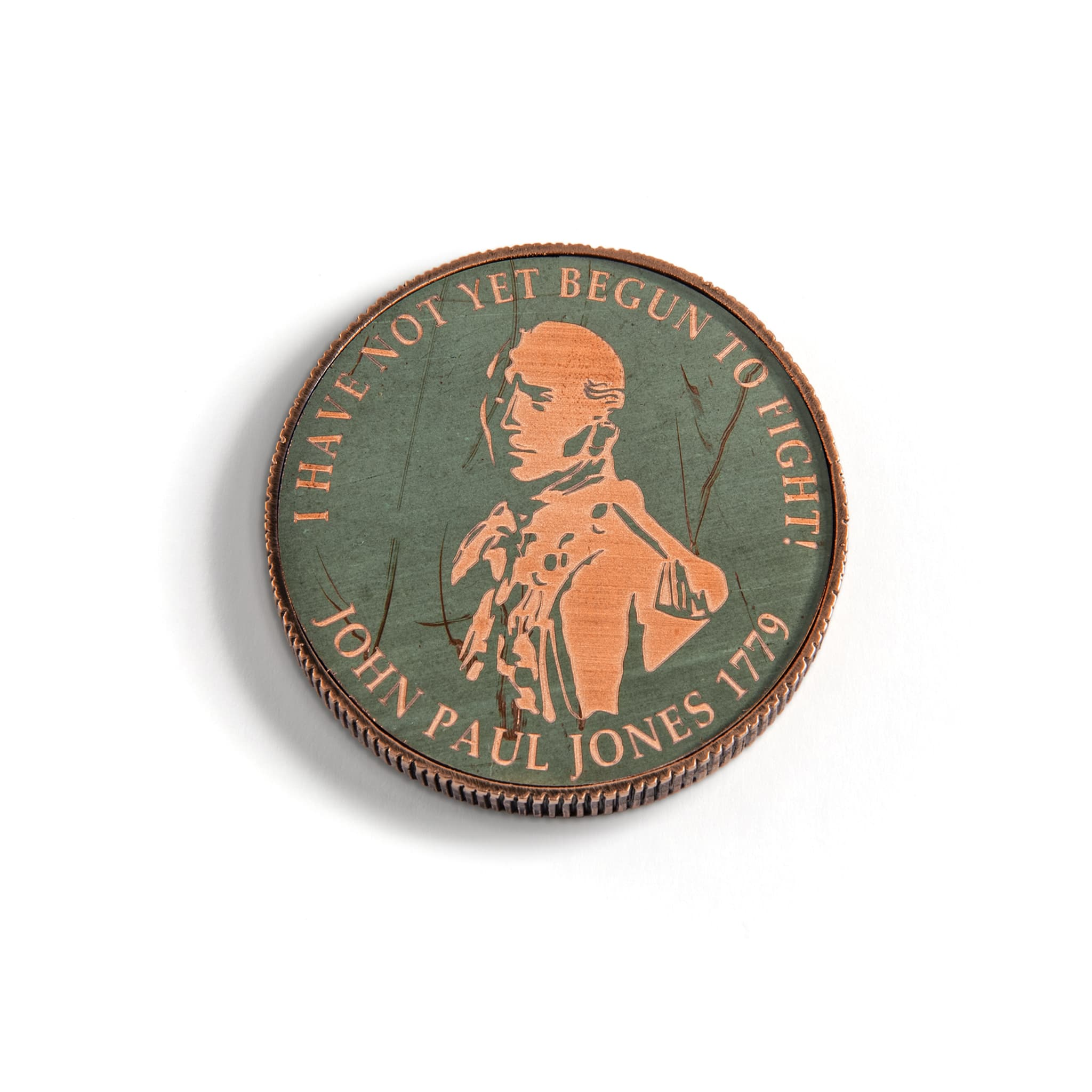 Class of '79 Challenge Coin, John Paul Jones