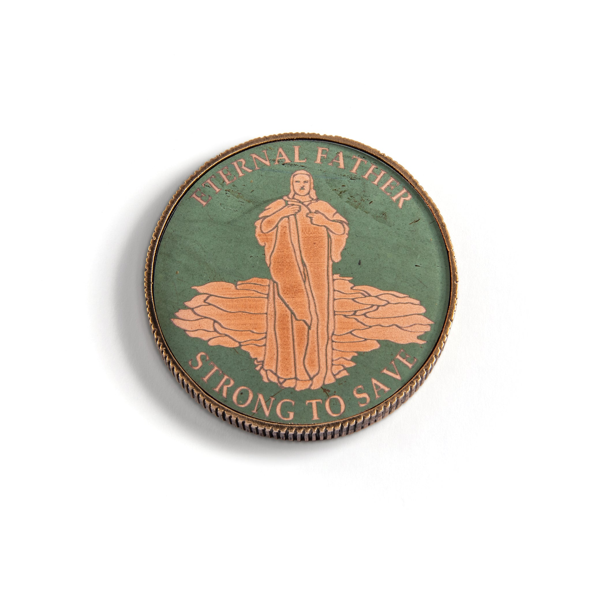 Challenge Coin, Christ the Consoler