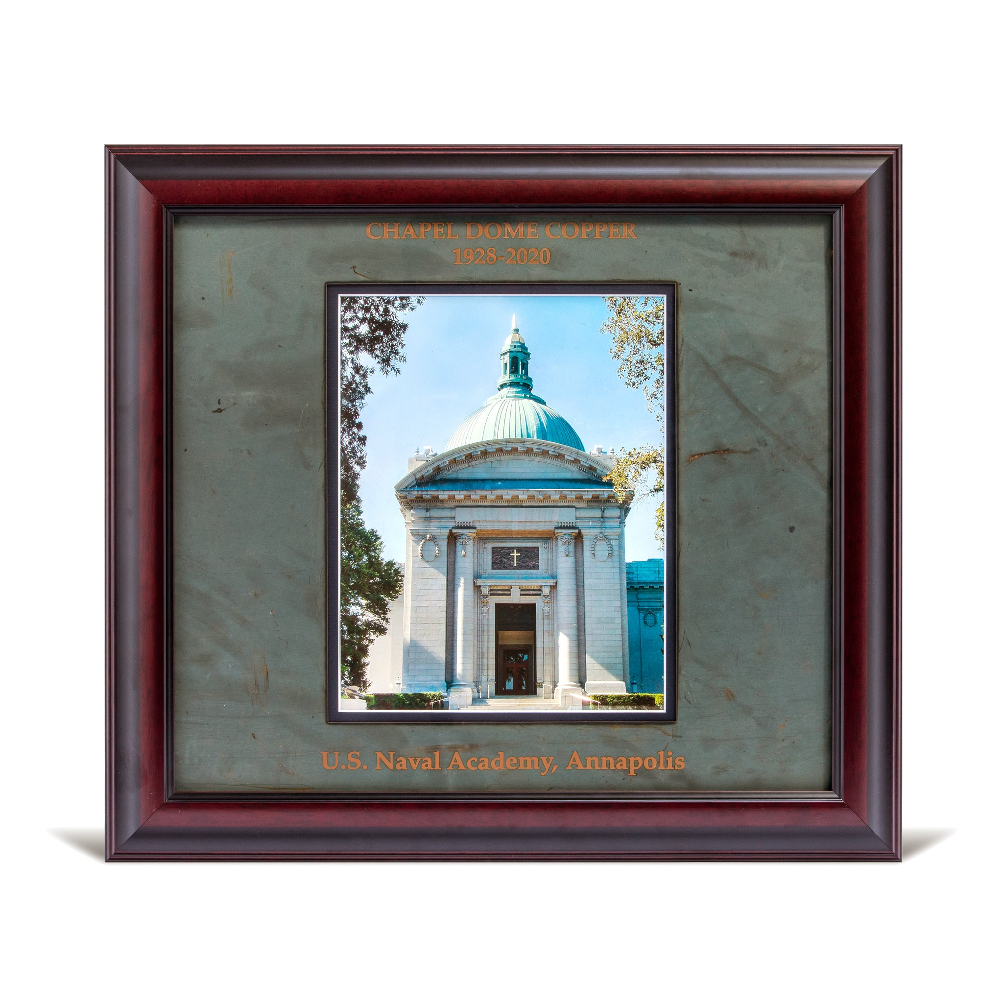 Framed Chapel Photo with Copper Mat
