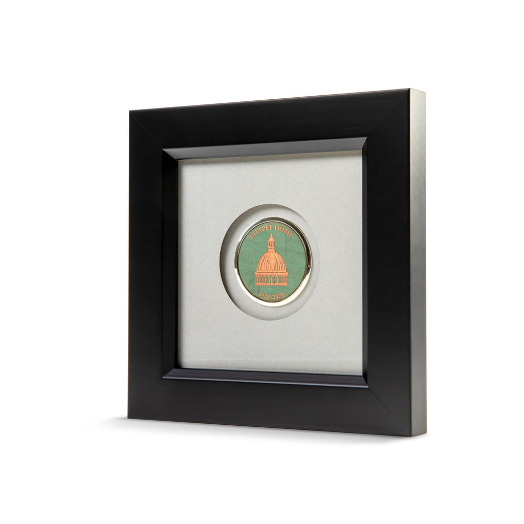 Black Frame with USNA Chapel Dome Medallion