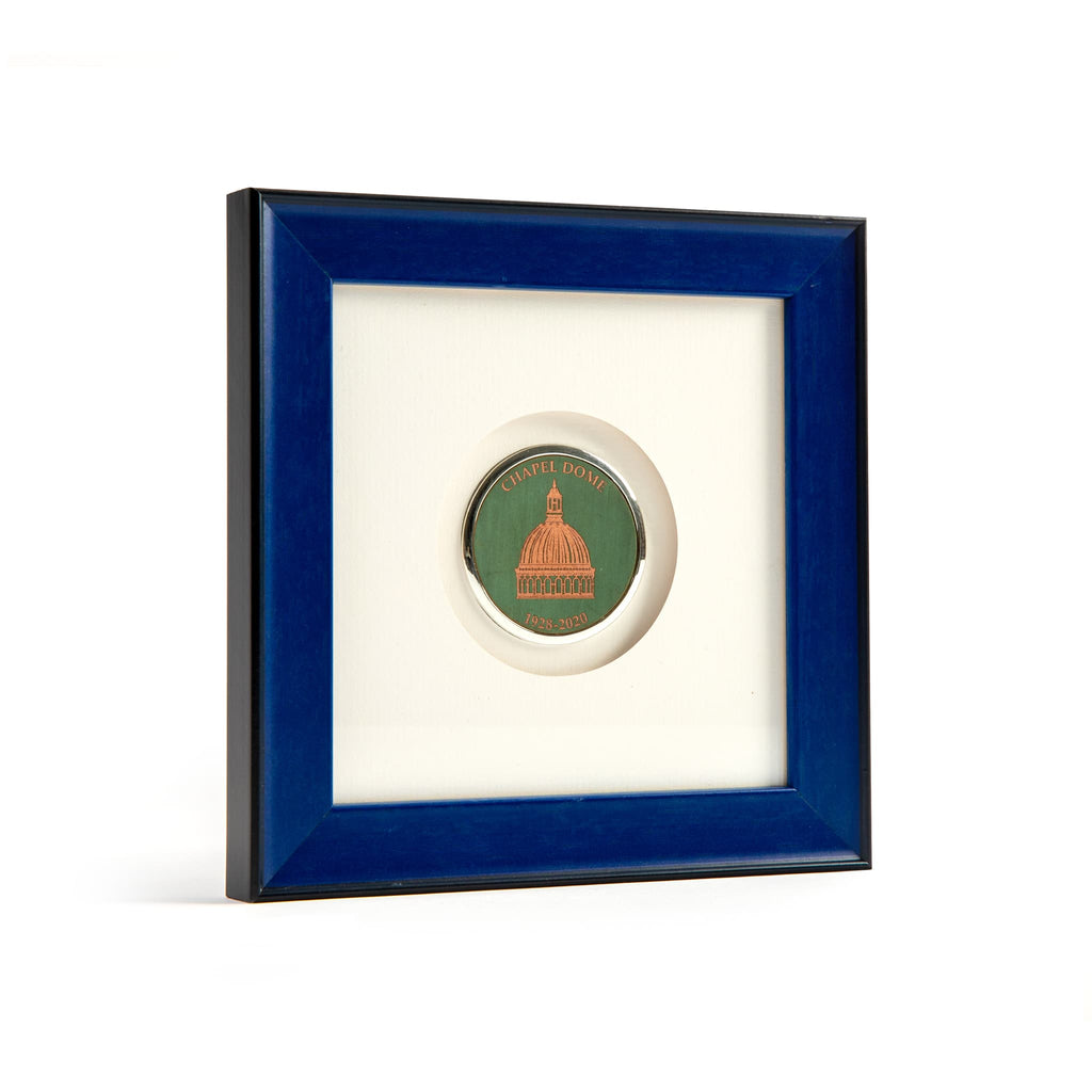 Navy Blue Frame with USNA Chapel Dome Medallion