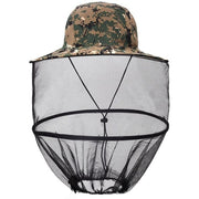 Anti Pest Protector Beekeeper Style Mesh Hat